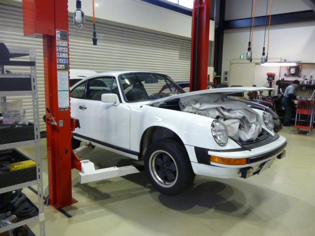 ポルシェ 911 SC エンジン、クラッチ&ブレーキのオーバーホール
